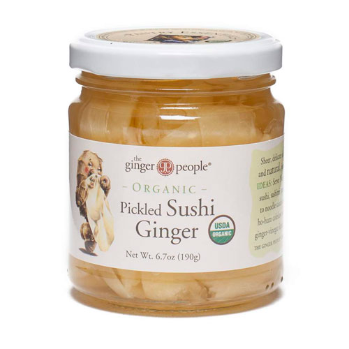 GINGER PEOPLE PICKLED SUSHI GINGER 6.7oz
