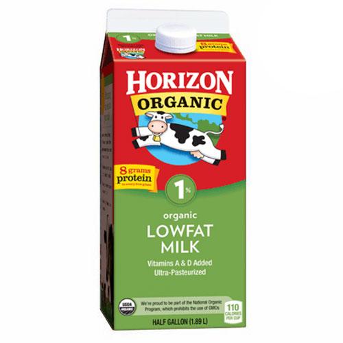 HORIZON ORGANIC MILK 1% 64oz