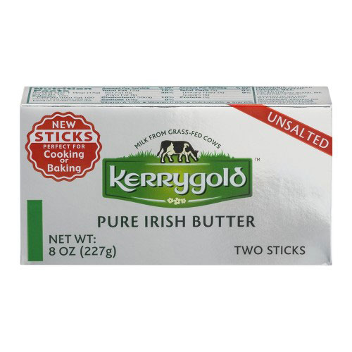 KERRYGOLD IRISH BUTTER UNSALTED 8oz