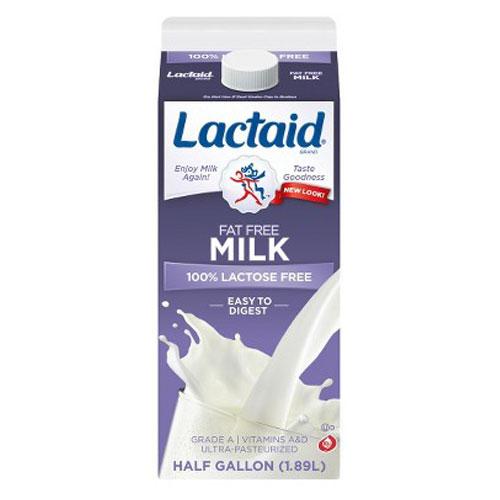 LACTAID LACTOSE FREE MILK FAT FREE 64oz