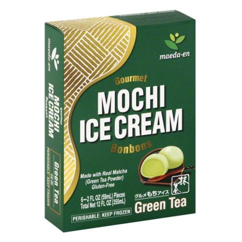 MAEDA-EN MOCHI ICE CREAM GREEN TEA 12oz