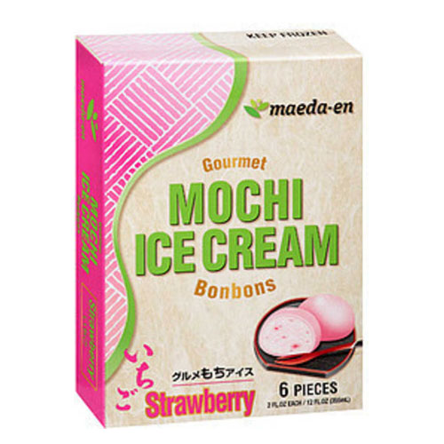 MAEDA-EN MOCHI ICE CREAM STRAWBERRY 12oz