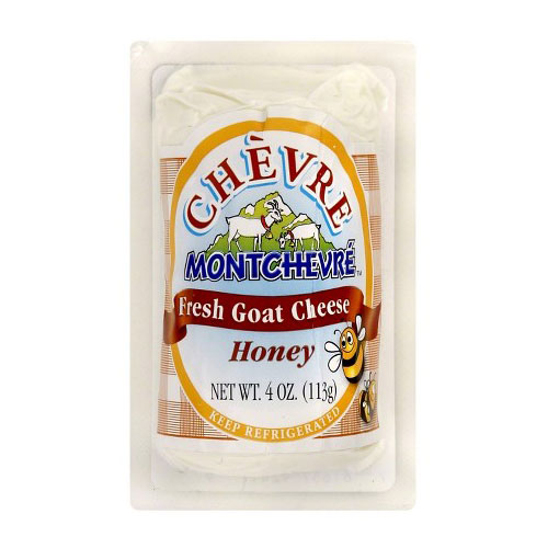 MONTCHEVRE  GOAT CHEESE HONEY 4oz
