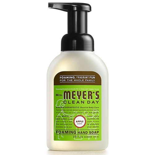 MRS MEYERS FOAM HAND SOAP APPLE 10oz