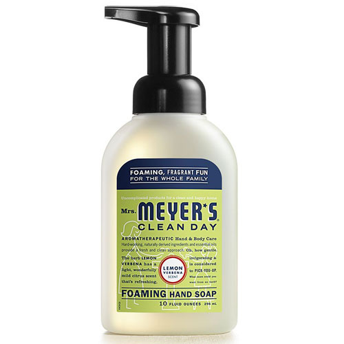 MRS MEYERS FOAM HAND SOAP LEMON 10oz