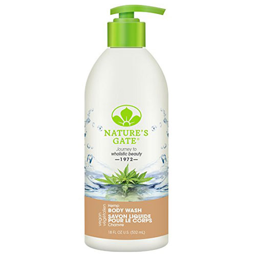 NATURES GATE BODY WASH HEMP 18oz