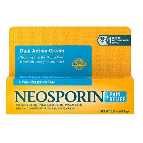 NEOSPORIN PAIN RELIEF CREAM 0.5oz