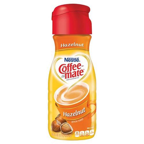 NESTLE COFFEE MATE HAZELNUT 16oz