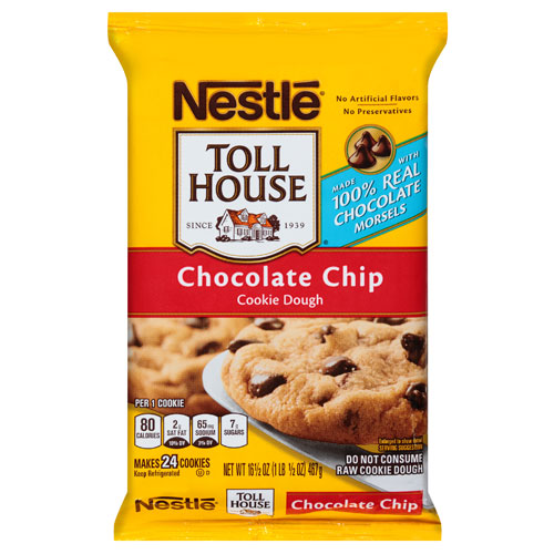 NESTLE COOKIE DOUGH CHOCOLATE CHIP 16.5oz