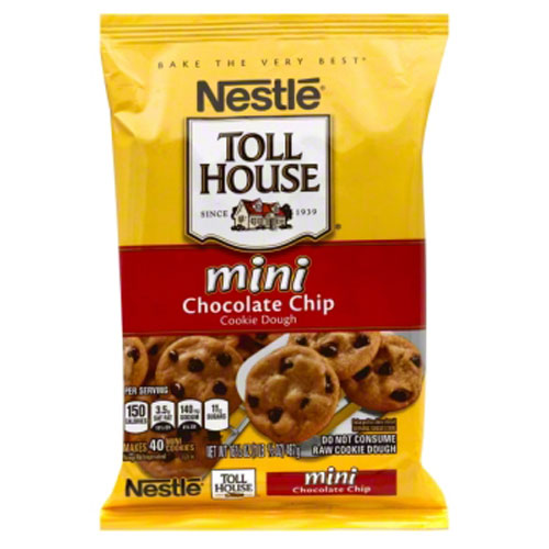 NESTLE COOKIE DOUGH MINI CHOCOLTAE CHIP 16.5oz