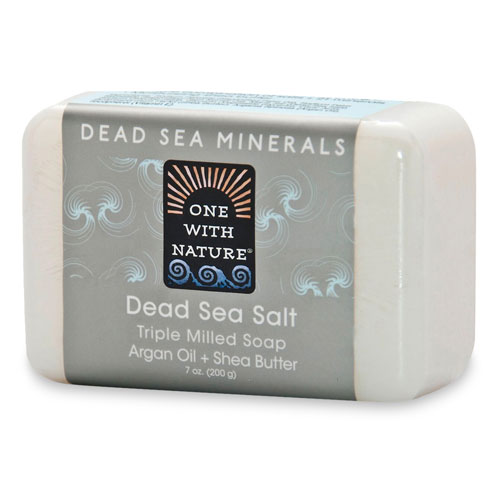ONE WITH NATURE DEAD SEA SALT 7oz