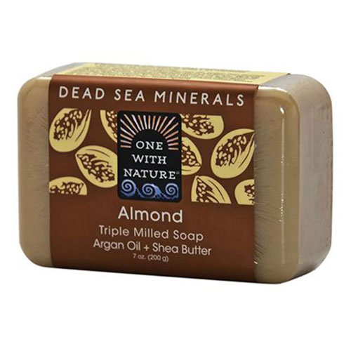 ONE WITH NATURE SOAP ALMOND 7oz