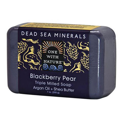 ONE WITH NATURE SOAP BLACKBERRY PEAR 7oz