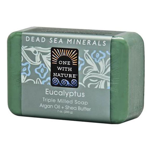 ONE WITH NATURE SOAP EUCALYPTUS 7oz