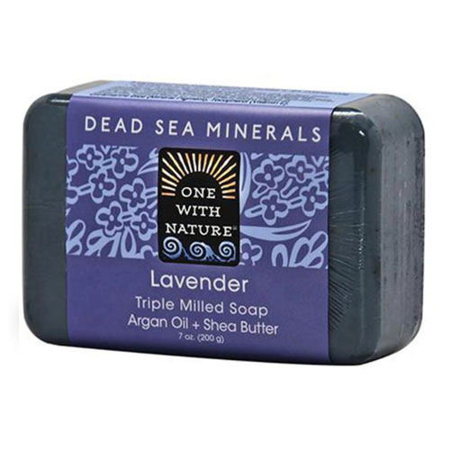 ONE WITH NATURE SOAP LAVENDER 7oz