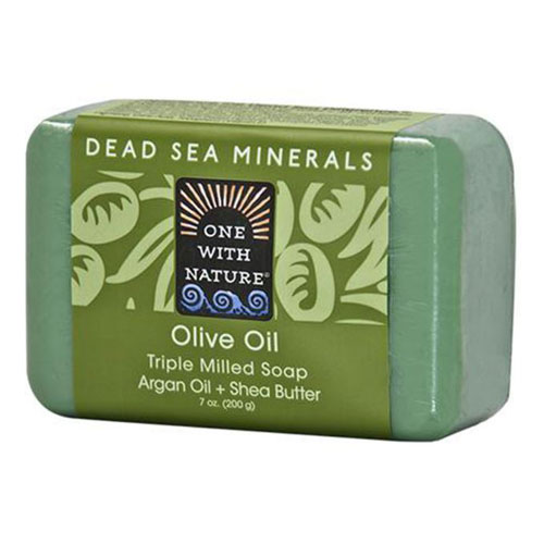 ONE WITH NATURE SOAP OLIVE OIL 7oz