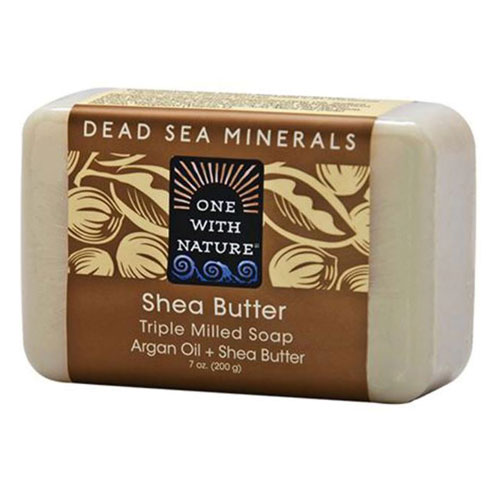 ONE WITH NATURE SOAP SHEA BUTTER 7oz