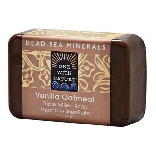 ONE WITH NATURE SOAP VANILLA OATMEAL 7oz