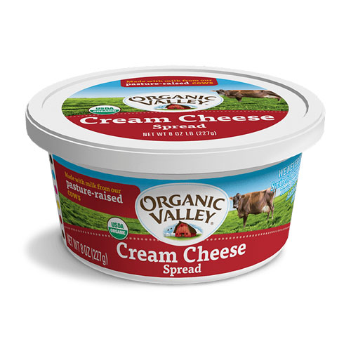 ORG VALLEY CREAM CHEESE SPREAD 8oz