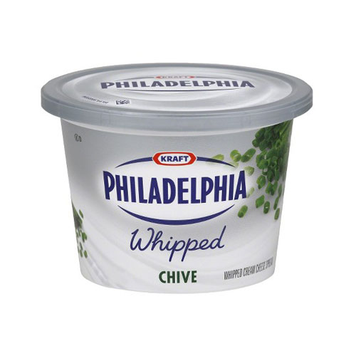 PHILADELPHIA CREAM CHEESE WHIPPED CHIVE 8oz