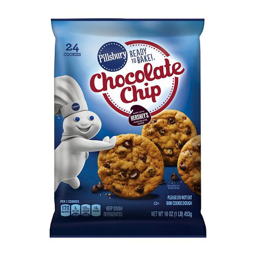 PILLSBURY CHOCOLATE CHIP COOKIE 16oz