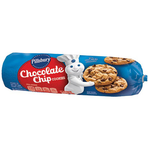 PILLSBURY COOKIE DOUGH CHOCOLATE CHIP 16.5oz