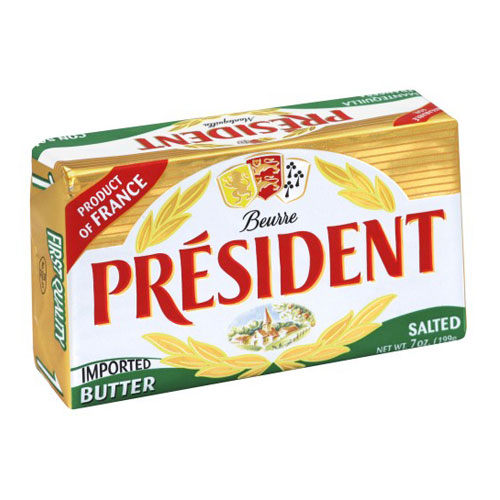 PRESIDENT BUTTER SALTED 7oz