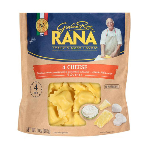 RANA PASTA 4 CHEESE RAVIOLI 10oz