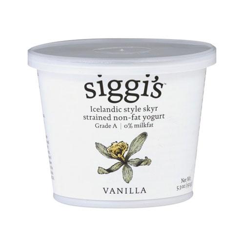 SIGGIS YOGURT 0% VANILLA 5.3oz