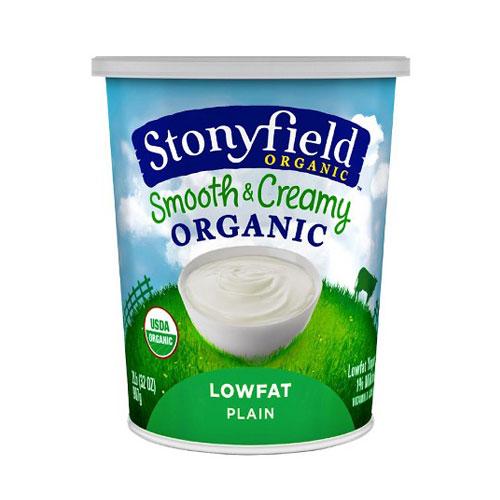 STONYFIELD YOGURT ORGANIC LOW FAT PLAIN 32oz