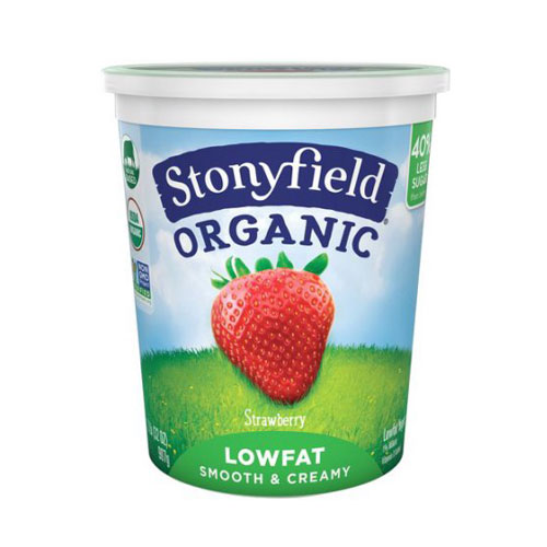 STONYFIELD YOGURT ORGANIC LOW FAT STRAWBERRY 32oz