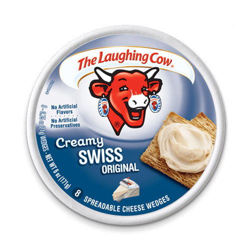 THE LAUGHING COW LIGHT CREAMY SWISS 6oz