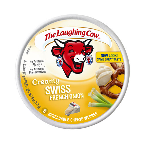 THE LAUGHING COW LIGHT FRENCH ONION 6oz