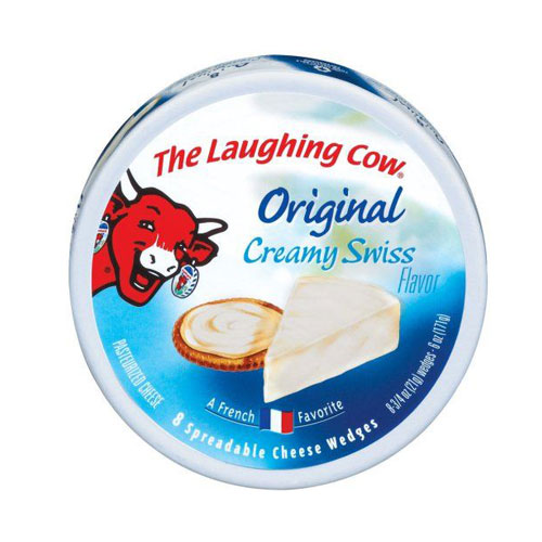 THE LAUGHING COW ORIGINAL CREAMY SWISS 6oz