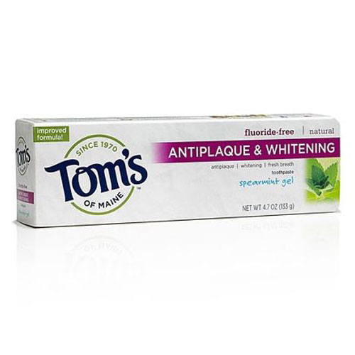 TOMS  TOOTHPASTE ANTIPLAQUE SPEARMINT GEL 4.7oz