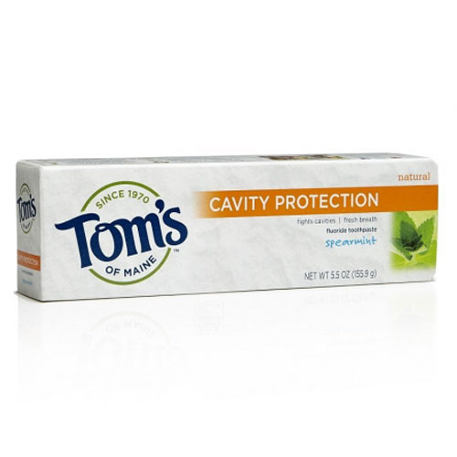 TOMS TOOTHPASTE CAVITY PROTECTION SPEARMINT 5.5oz