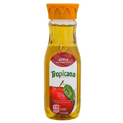 TROPICANA JUICE APPLE ORCHARD STYLE 12oz