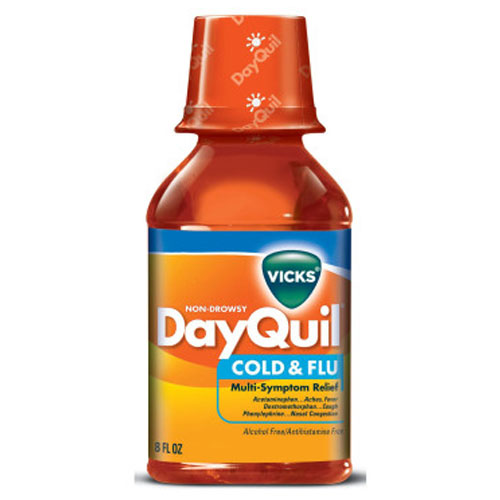 VICKS DAYQUIL COLD & FLU 8oz