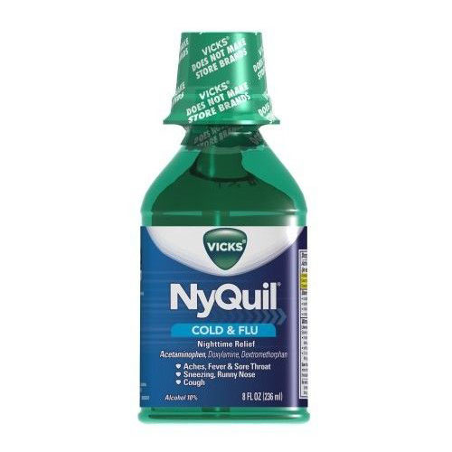 VICKS NYQUIL COLD & FLU 8oz