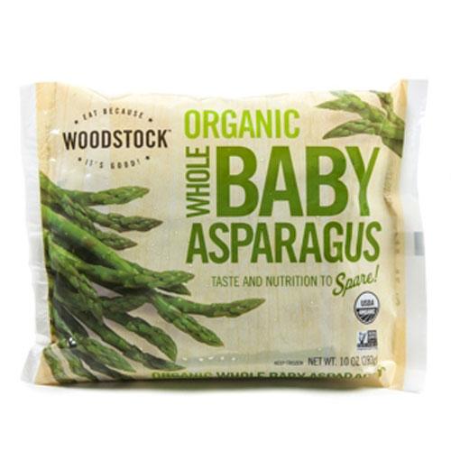 WOODSTOCK ORGANIC WHOLE BABY ASPARAGUS 10oz