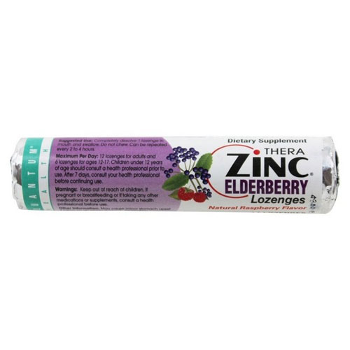 ZINC ELDERBERRY LOZENGES 1.23oz