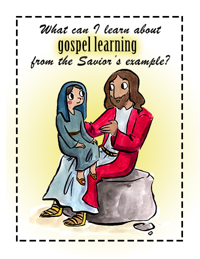 Sunday School Lesson October Poster