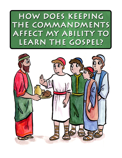 Sunday School September Lesson Poster