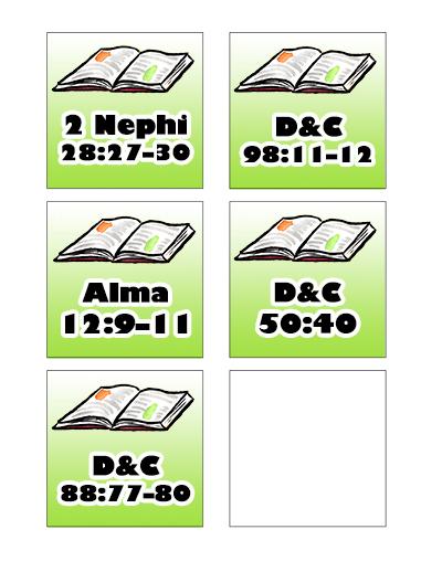 Sunday School Scriptures