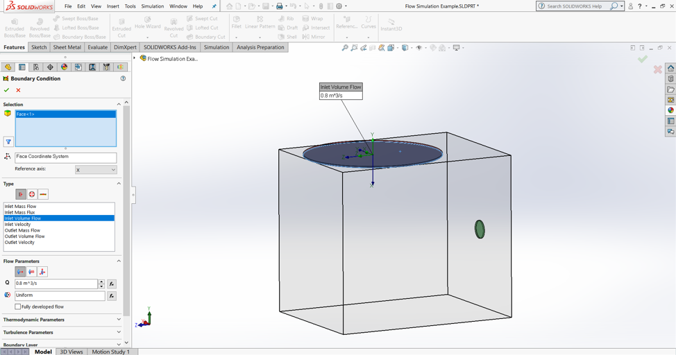 2019] SolidWorks Flow Simulation Tutorial and Add-in