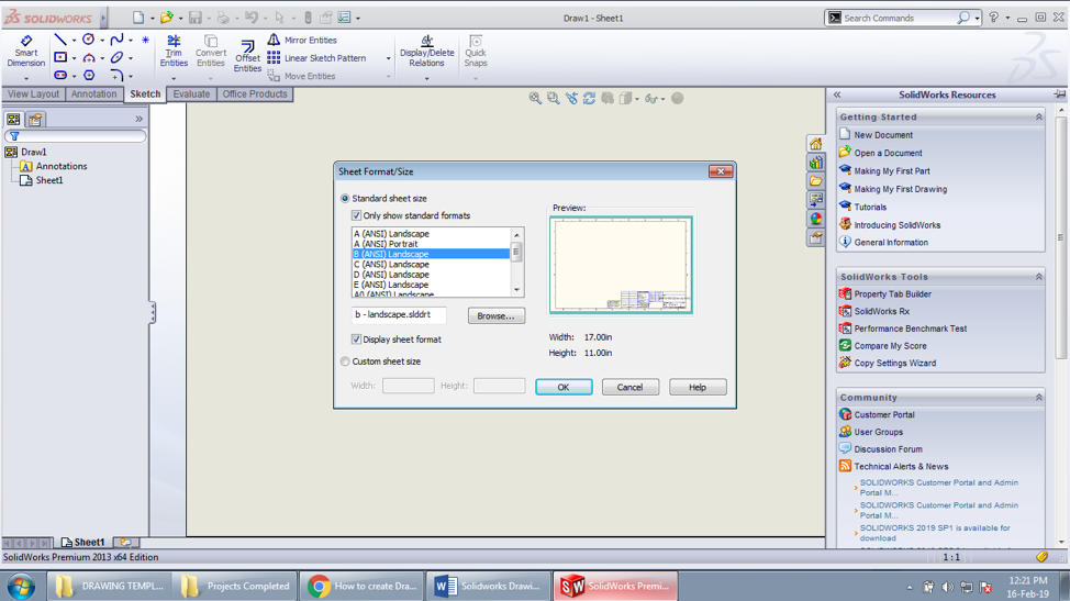 How to Make a SOLIDWORKS Drawing Template: Everything to Know | All