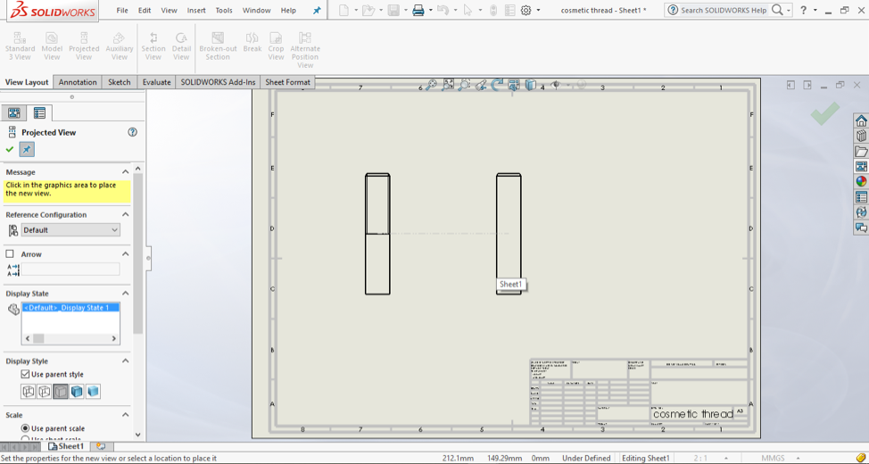 SOLIDWORKS Cosmetic Thread: Everything You Need to Know