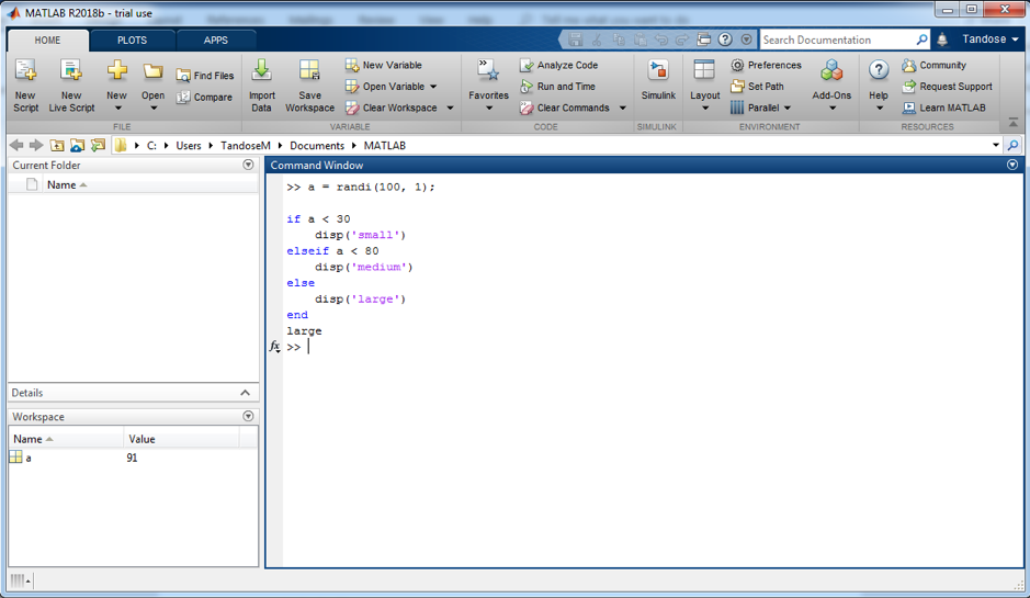 IF STATEMENT in MATLAB: Everything You Need to Know   All