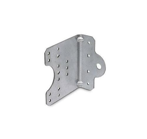 1 3/8 in x 4 in x 4 1/4 in 12 Gauge Simpson Strong-Tie SSC Steel-Stud Connector
