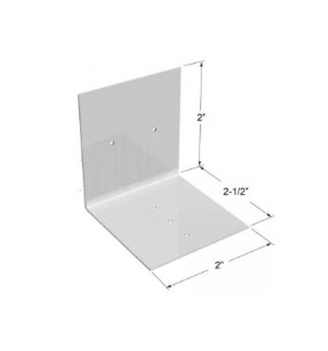 2 in x 2 in x 2 1/2 in x 0.063 in ClarkDietrich Aluminum Burn Clip